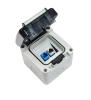 Flush mount box BKT IP 66