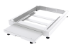 BKT plinth/base 100 mm, for server cabinet width 800 and depth 1200 mm, base with built-in counterweight RAL 7035 GREY