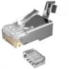 BKT RJ45 cat.6A plug, AWG 22-24, shielded, tool (50pcs)