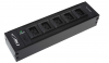 Module BKT for rail PGDS 5 x IEC320 C13, LED control light & circuit breaker