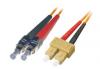 Patchcord BKT FC/PC-SC/PC OM1 (62,5/125um) duplex 2m