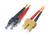 Patchcord BKT FC/PC-SC/PC OM2 (50/125um) duplex 2m