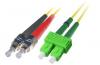 Patchcord BKT FC/UPC-SC/APC OS2 (9/125um) duplex 1m