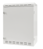 BKT outdoor wall hanging cabinet, double walls, 550/295/700 (W/D/H mm) IP55 RAL7035