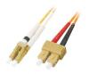Patchcord BKT LC/PC-SC/PC OM1 (62,5/125um) duplex 1m