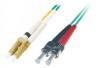 Patchcord BKT LC/PC-ST/PC OM3 (50/125 um) duplex 2m
