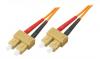 Patchcord BKT SC/PC-SC/PC OM1 (62,5/125um) duplex 2m