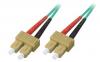 Patchcord BKT SC/PC-SC/PC OM3 (50/125 um) duplex 5m