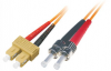 Patchcord BKT SC/PC-ST/PC OM2 (50/125um) duplex 1m