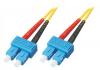 Patchcord BKT SC/UPC-SC/UPC OS2 (9/125um) duplex 5m