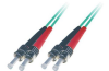 Patchcord BKT ST/PC-ST/PC OM4 (50/125 um) duplex 1m