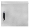 BKT outdoor wall hanging cabinet 600/500/600 (W/D/H mm) IP55 RAL7035