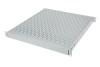 "BKT fixed server shelf 19"" with regulated depth 350 - 600 mm, 1U, RAL 7035 GREY"