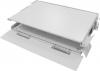 "BKT fiber optic patch panel FTTH 96 SC simplex 2U/19"" RAL 7035"