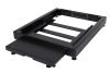 BKT plinth/base 100 mm, for server cabinet width 800 and depth 1000 mm, base with built-in counterweight RAL 7021 BLACK
