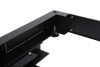 BKT plinth/base 100 mm, for server cabinet width 600 and depth 1000 mm, base with built-in counterweight RAL 7021 BLACK