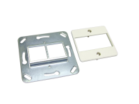 Central plate with metal support BKT NL 2xMMC 6P (50/50)