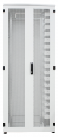 "Optical distribution frame BKT ODF 42U 19"" 900/400/1980 double leaf door perforated (1x600+1x300)  RAL 7035"