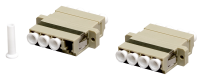 Adaptor BKT LC quad MM beige SC duplex footprint