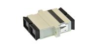 Adaptor BKT SC MM duplex plastic beige