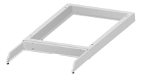 Plinth/base for industrial cabinet BKT 800/800/100 (W/D/H mm), base with built-in counterweight RAL 7035