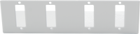 "Front plate BKT 4xSC Duplex for SMALL NSR ""Data plus"""