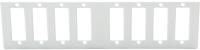 "Front plate BKT 8xSC duplex for SMALL NSR ""Data plus"""