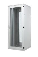 "BKT server cabinet SRS 47U, 800/1000/2186 (W/D/H mm), front door single leaf perforated, back shortened perforated metal panel RAL 7035 GREY, ""STANDARD II"" (welded frame-capacity 1000 kg)"