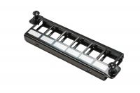 """BKT LGX crossing panel 19'', modular 6xRJ45, black, for front plates BKT MPO LGX """"Veni"""""""
