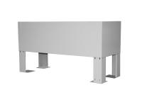 """BKT underground plinth for 19"""" BKT outdoor cabinet MFG type 8, 1000/500 (W/D mm) RAL7038"""