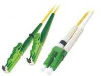 Patchcord BKT E2000-APC/LC-APC (9/125um) duplex 1m