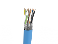 Cable S/FTP LSHF-FR KAT 7A BKT.NL 1500 6P MULTIMEDIA wire BLUE 22AWG (500m)
