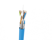 Cable U/FTP LSHF cat.6 BKT 455 wire BLUE 23AWG (500m)