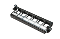 "BKT crossing panel LGX BKT, modular for 6xRJ45, black, for front plates BKT MPO LGX ""Veni"""