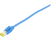 Patchcord BKT S/FTP cat.6A PiMF BLUE Draka + HIROSE LSHF 2m