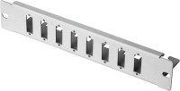 "BKT patch panel 8 x SC Duplex, 10"" - unequipped RAL 7035 GREY"