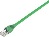 Patchcord BKT U/UTP cat.5e GREEN Draka LSHF 0,5m