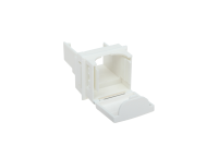 Adaptor BKT.NL for modules mounting BKT.NL MMC 4P / RJ45 in BKT modular crossing panel MMC 6P, white