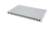 "BKT fiber optic patch panel sliding 1U ""Light"" with integrated front plateą 24 x SC Duplex ""Data"""
