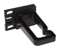 BKT plastic cable holder high elasticty 1U, 40x80mm
