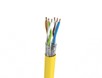 Cable S/FTP FRNC cat.7 BKT 695 wire YELLOW 23AWG (500m)