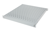 "BKT fixed server shelf 19"" with regulated depth 350 - 600 mm, 1U, RAL 7035 GREY"
