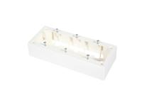 Surface mount box BKT 6 modules (205 x 40 x 81)