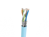 Cable U/FTP LSHF cat.6A BKT 585 wire BLUE 23AWG (500m)