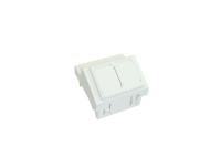 Angled adaptor BKT.NL 2xMMC 4P lub 2xRJ45 (45/45)