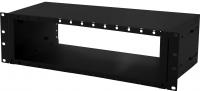 "BKT fiber optic patch panel 3U/19"" for LGX modules RAL 9005 Alfa"