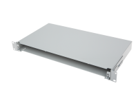 """Angled rear cable slot-cable entry for BKT patch panel RAL 7021 """"Veni"""""""