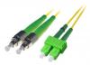 Patchcord BKT FC/APC-SC/APC OS2 (9/125um) duplex 1m