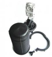 Mufa światłowodowa BKT na 24 spawy (z możliwością rozbudowy do 144 spawów - 6 kaset) 1 otwór owalny, 4 otwory okrągłe