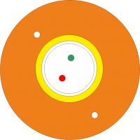 "Kabel FO BKT abonencki typu ""DAC"" 4E/125 G657A1 pomarańczowy PP 1200N"